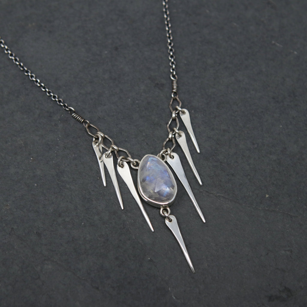 OOAK Moonstone Star Nymph Necklace