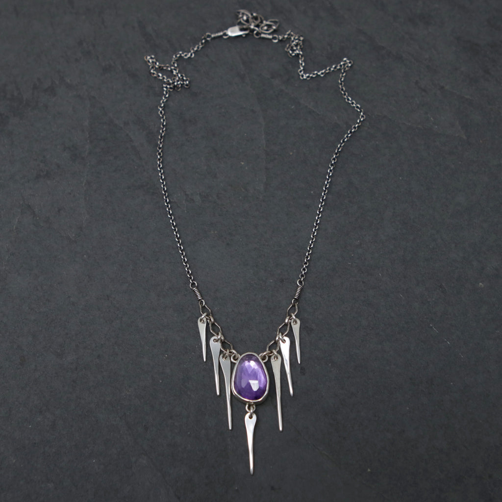 OOAK Amethyst Star Nymph Necklace
