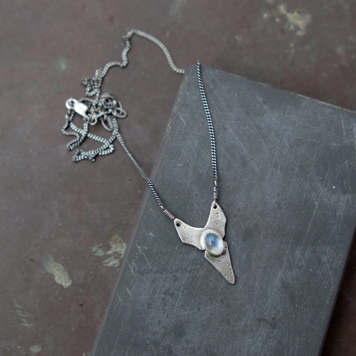Mini Moonstone Hydra Necklace