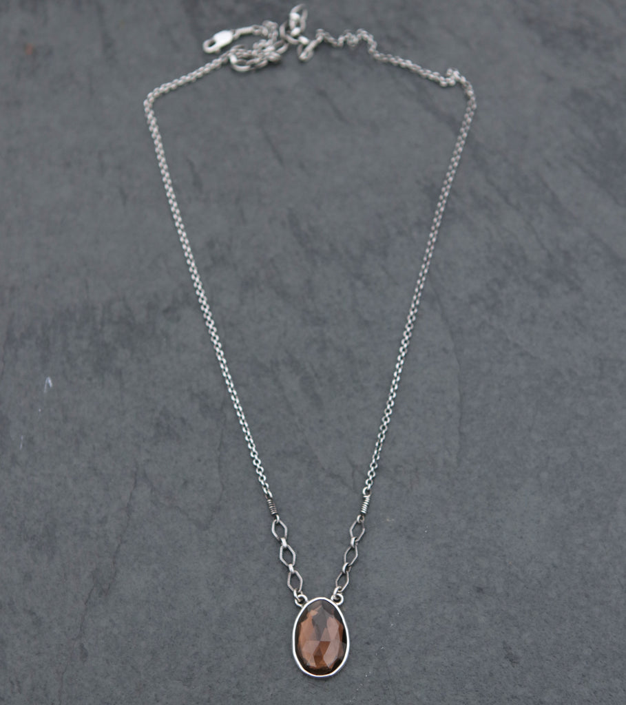 Smokey Quartz Spiritus Necklace - OOAK