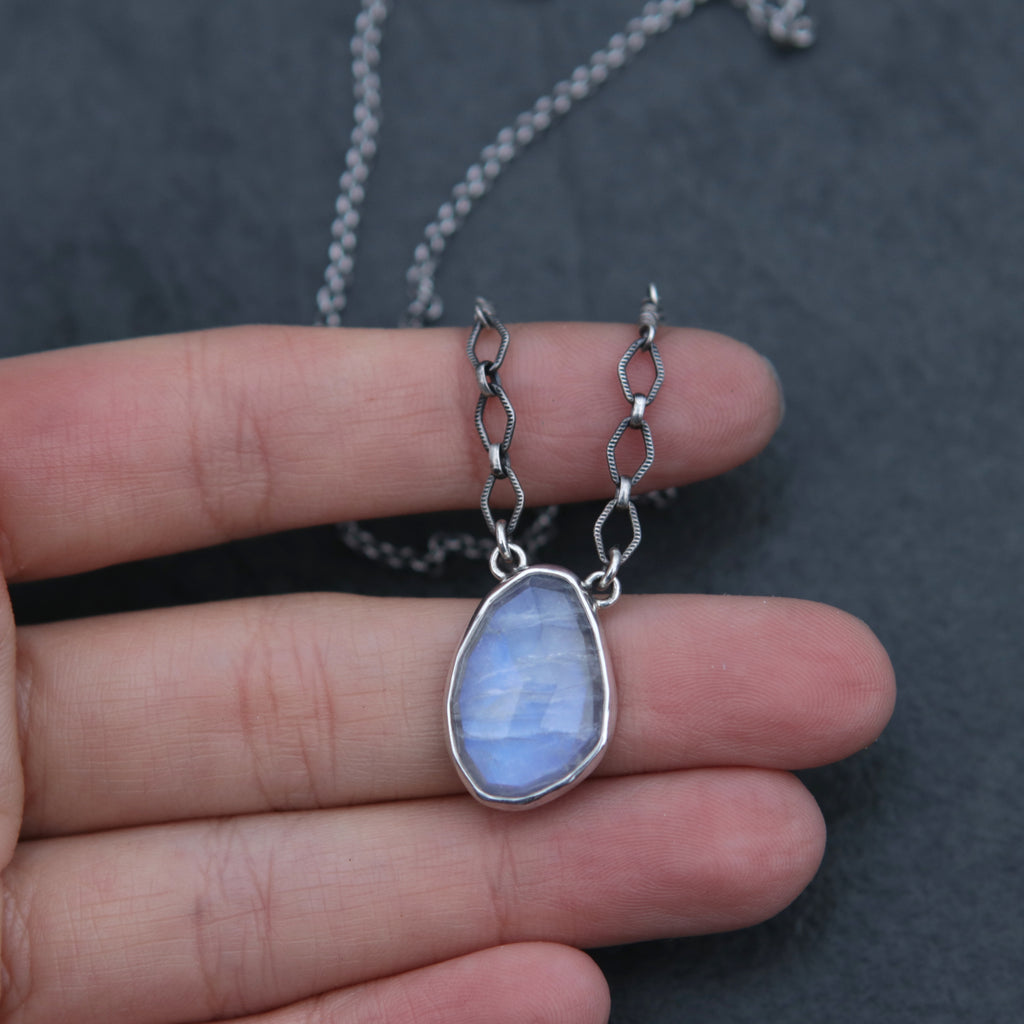 Moonstone Spiritus Necklace - OOAK