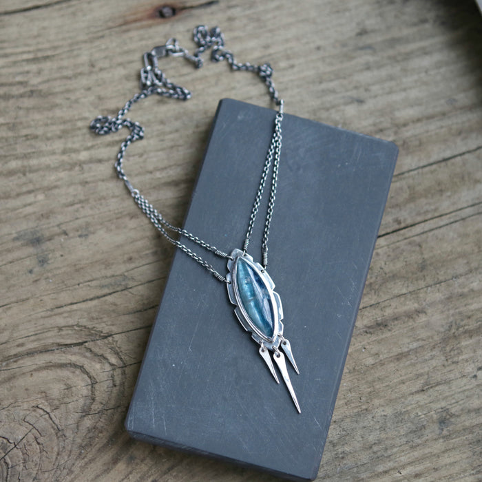 Kyanite Europa Queen Necklace
