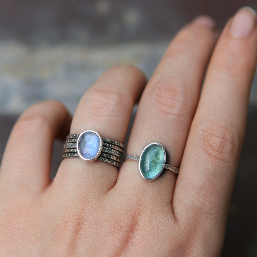 Moonstone Relic Ring - Size 6 OOAK