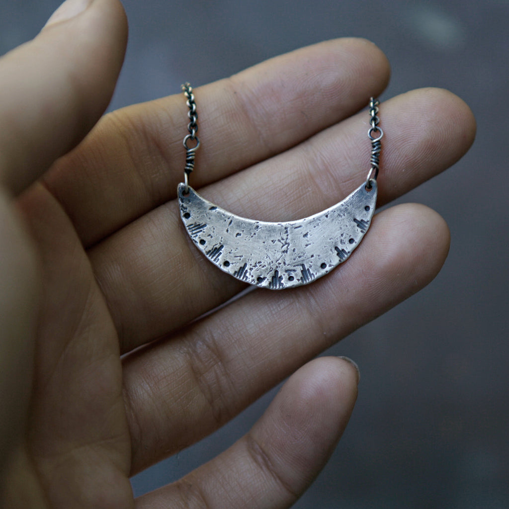 New Moon Rising Necklace