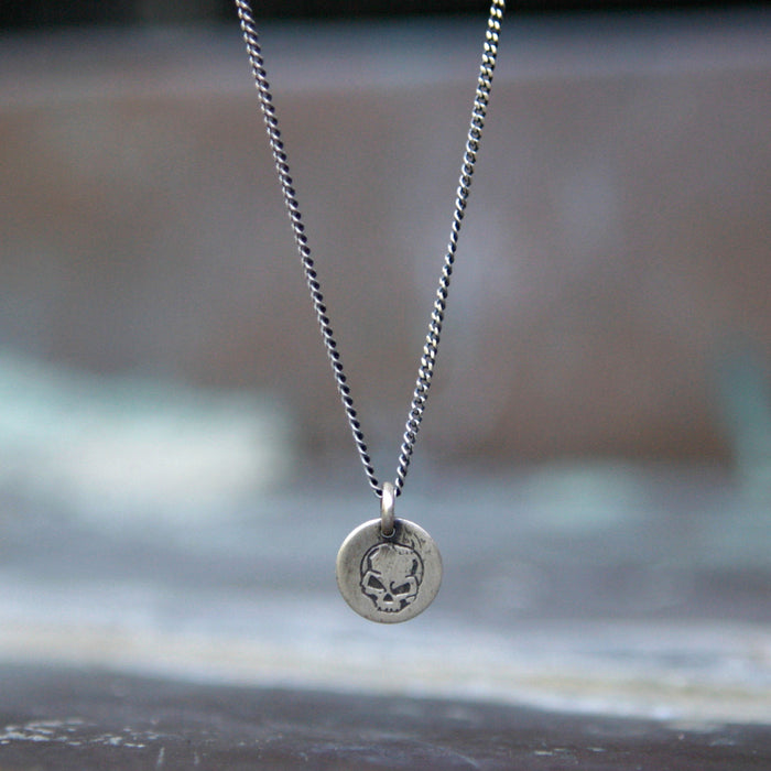 Memento Mori Charm Necklace