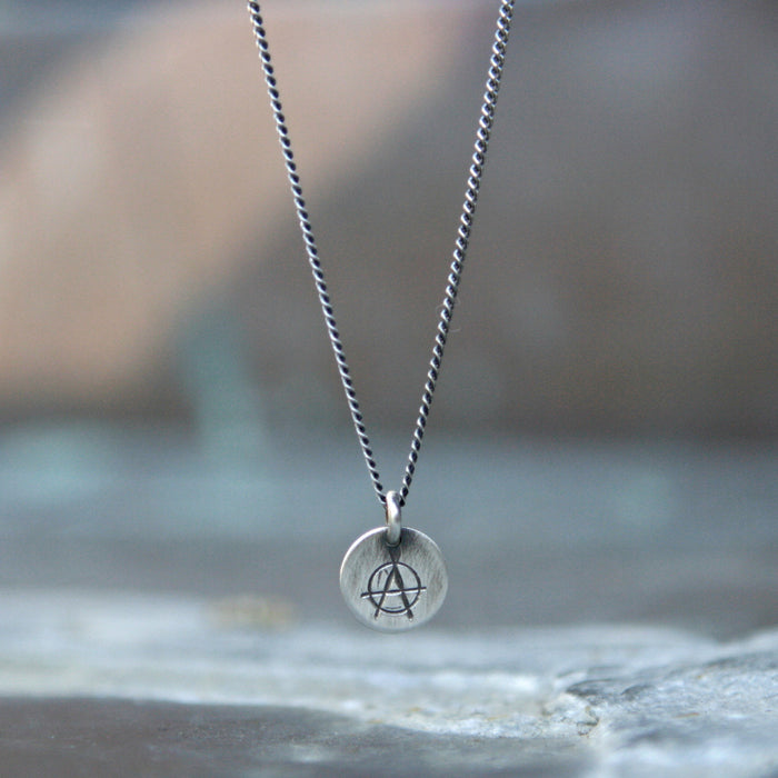 Anarchy Charm Necklace