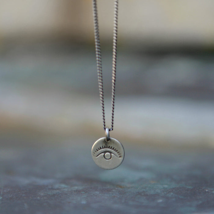 All Seeing Eye Charm Necklace