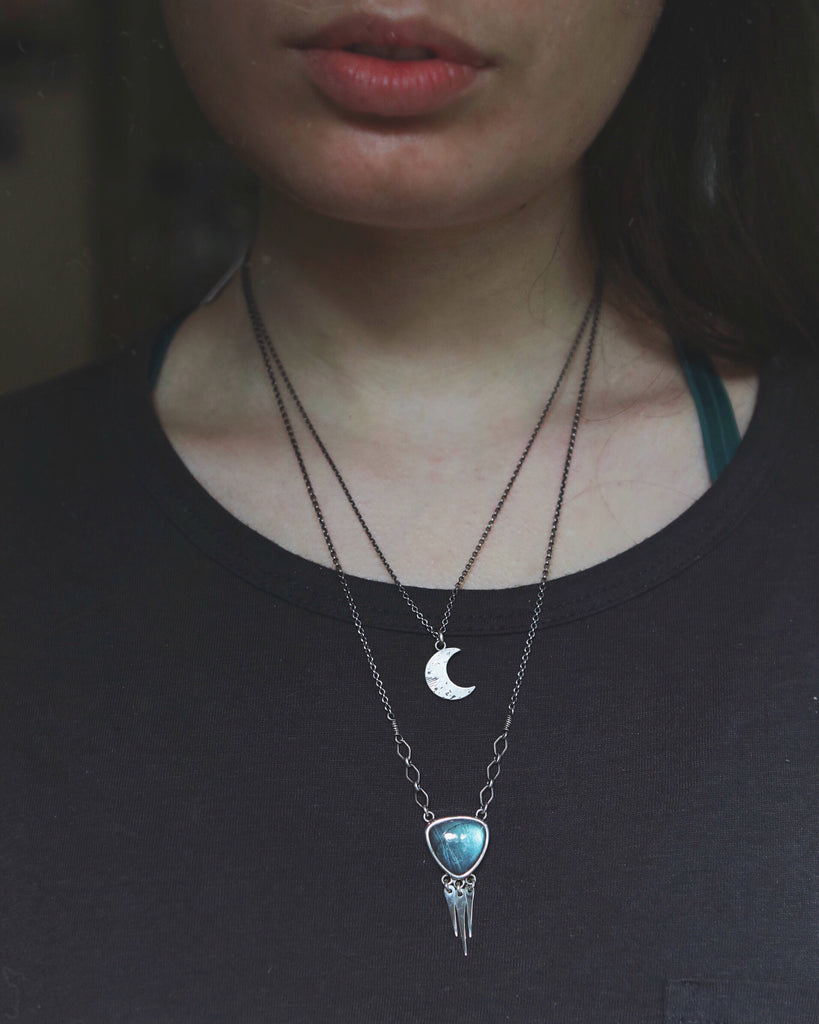 Little New Moon Necklace *Last One*