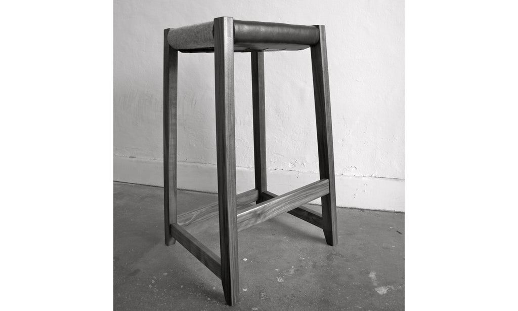 John Beckwith - Leatherboy stool