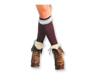 Boot Socks, ACCESSORIES, DM Merchandising, Pink Maisy- PinkMaisy Premium Women Clothing Boutique