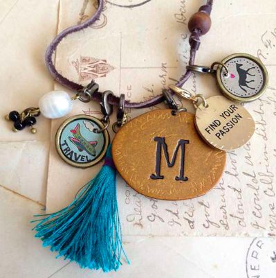 Natural Life COURAGE Junk Market Charm, ACCESSORIES, natural life, Pink Maisy- PinkMaisy Premium Women Clothing Boutique