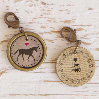 Natural Life Horse Junk Market Vintage Hobby Charm, ACCESSORIES, natural life, Pink Maisy- PinkMaisy Premium Women Clothing Boutique