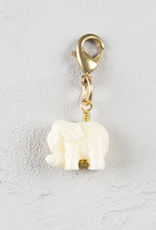 Natural Life WHITE ELEPHANT Junk Market Charm, ACCESSORIES, natural life, Pink Maisy- PinkMaisy Premium Women Clothing Boutique
