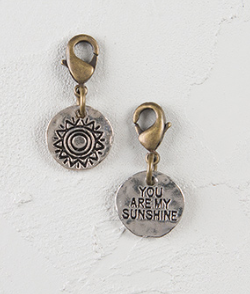 Natural Life SUNSHINE Junk Market Charm, ACCESSORIES, natural life, Pink Maisy- PinkMaisy Premium Women Clothing Boutique