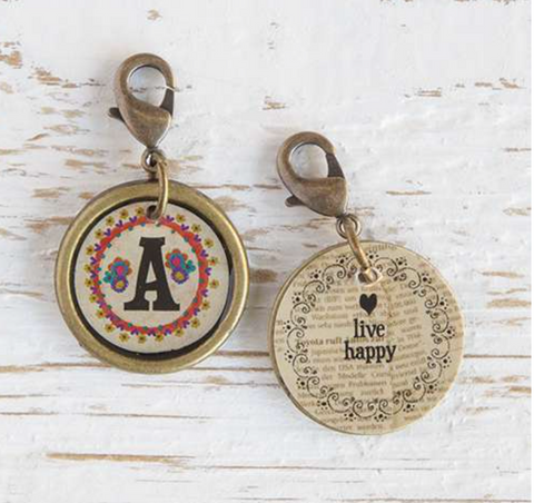 Junk market Letter Charms, ACCESSORIES, natural life, Pink Maisy- PinkMaisy Premium Women Clothing Boutique