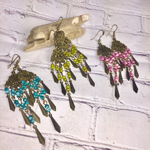 BOHO Bronze Summer Lovin Earrings, ACCESSORIES, Pink Maisy, Pink Maisy- PinkMaisy Premium Women Clothing Boutique