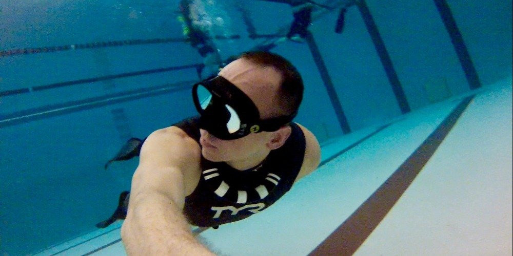 The Meditative Effects of Freediving