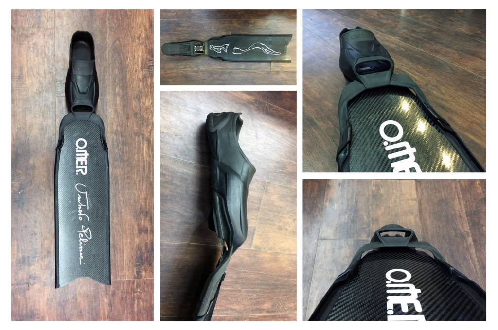 Mares Razor Carbon vs Omer UP-F1 Freediving Fins