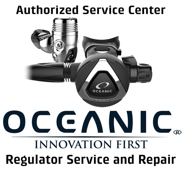 Oceanic Regulator Service and Repair