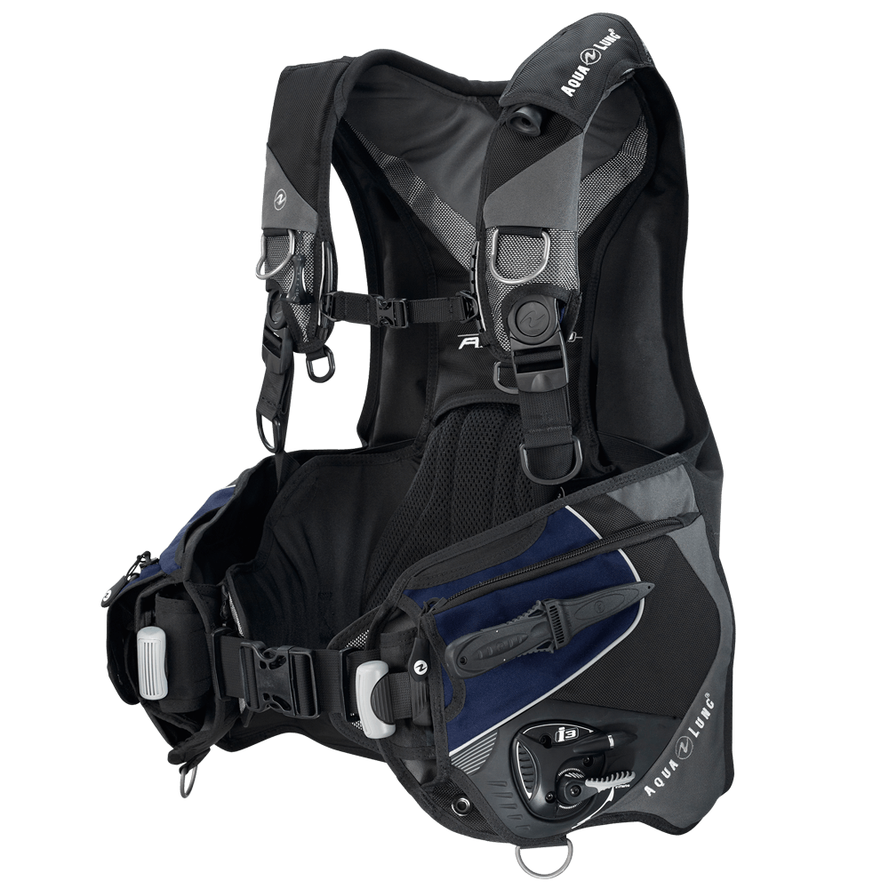 Aqualung Axiom i3 Buoyancy Compensator - Ecdivers