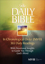 Load image into Gallery viewer, New International Version - NIV - The Daily Bible