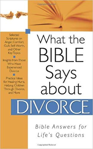 What The Bible Says About Divorce