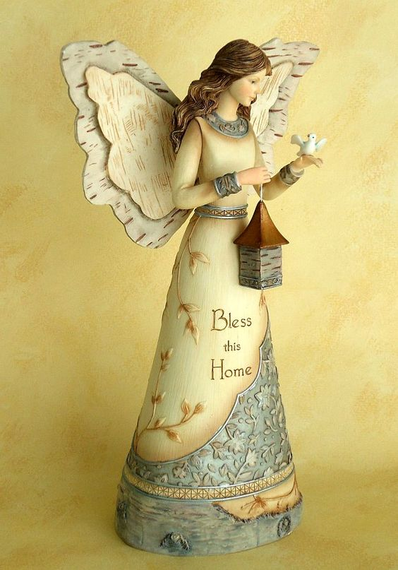 Angel - Bless This Home / Figurine: Bless This Home