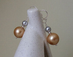 Unique Pearl Earrings