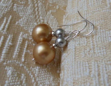 Load image into Gallery viewer, Unique Pearl Earrings