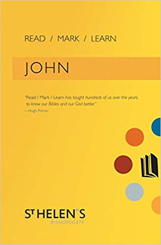 Read Mark Learn: John: A Small Group Bible Study