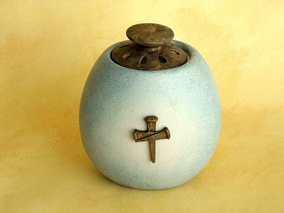 Tealight Holder - Cast All Your Care On Him / Scripture