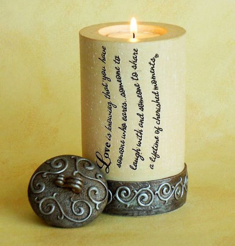 Tealight Holder - Love