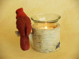 Votive Holder - Cardinal