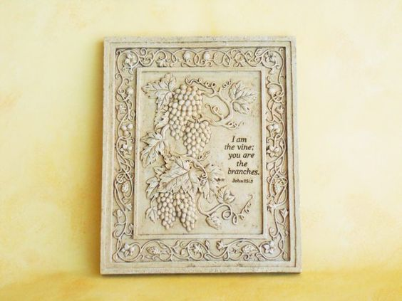Wall Plaque: John 15:5