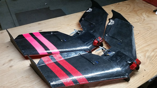 "Flinch V2 - 37"" FPV Wing"