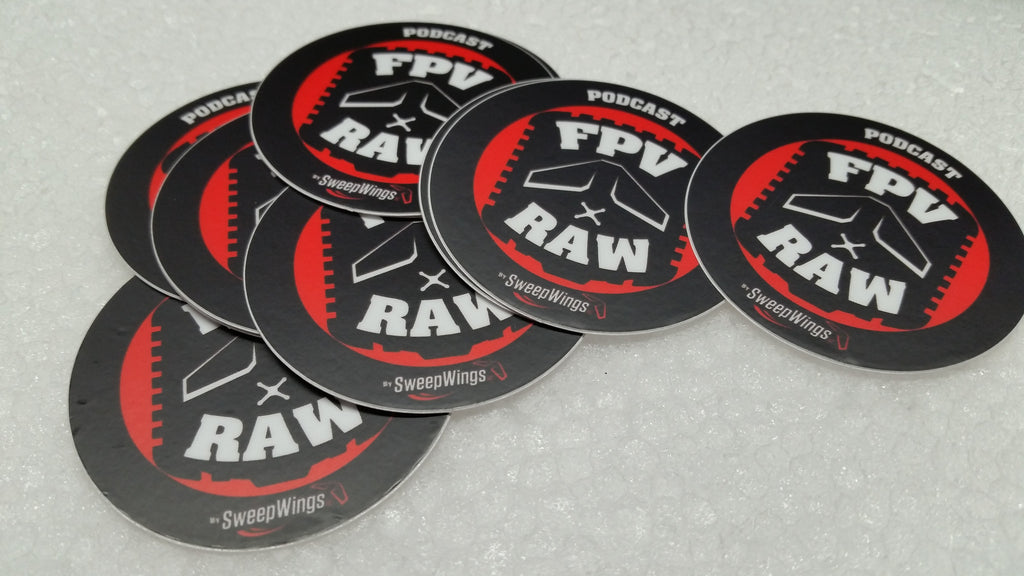 FPV RAW podcast sticker (1) ;)