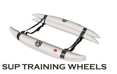 "Paddleboard SUP ""Training Wheels"" for YOGA or FISHING"