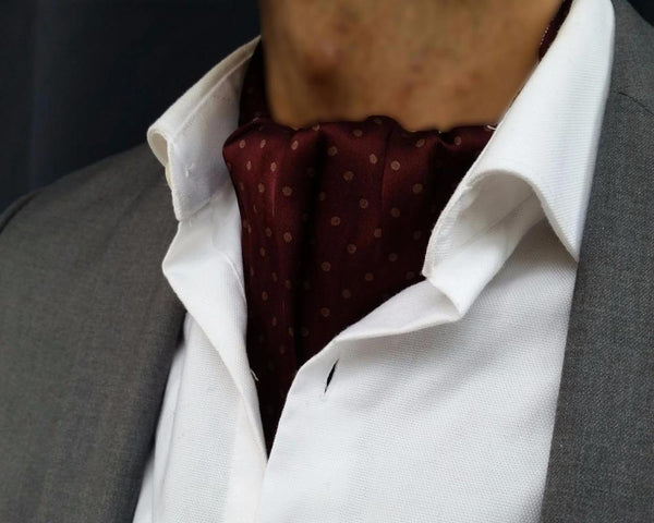 cravat and ascot