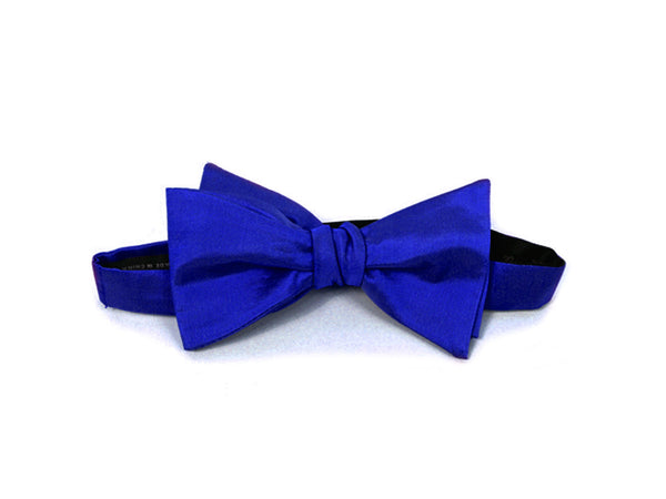 The Viscount Blue Bow Tie