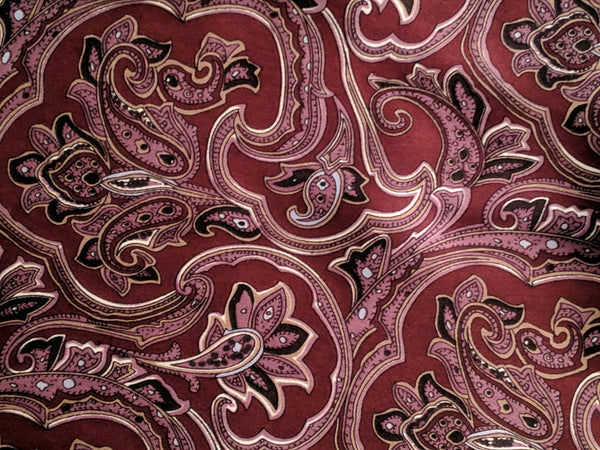The Prefect Silk Ascot Reversible (Paisley)