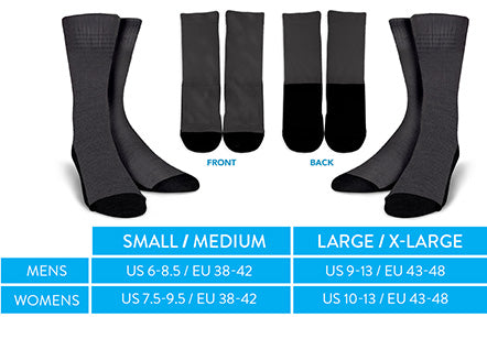 Socks Sizing Guide
