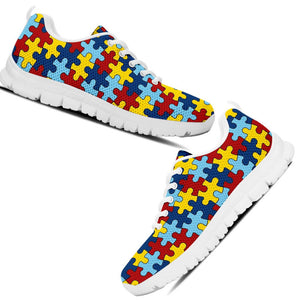 Kid's Running Shoes Autism Awareness EXP - Love Family & Home