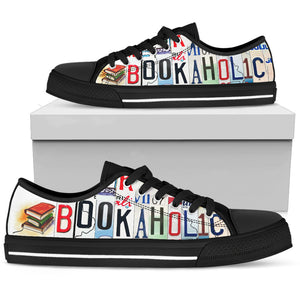 Bookaholic Low Top Shoes - Love Family & Home