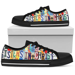 Sisters In Christ Low Top Shoes - Love Family & Home