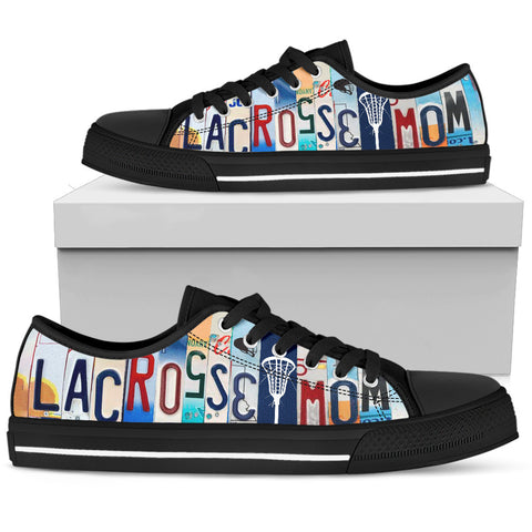 Proud Lacrosse Mom Low Top Shoes - Men's Sizes - Love Family & Home