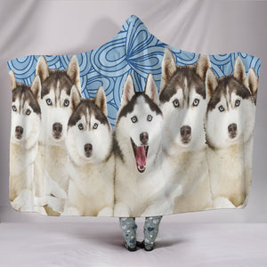 Huskies Hooded Blanket - Love Family & Home