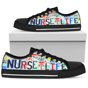Nurse Life Men's Low Top Shoe - Love Family & Home