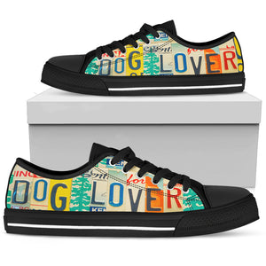 Dog Lover Low Top - Love Family & Home