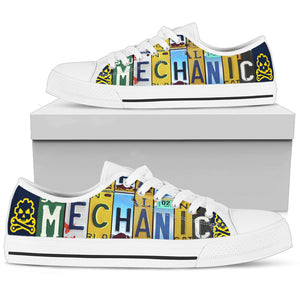 Mechanic Low Top Shoes - Love Family & Home