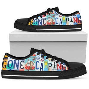 Gone Camping Low Top - Love Family & Home